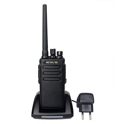 Retevis RT81 DMR Funkgeräte 10W UHF 2200mAh VOX FM Two Way Radio+Tracking