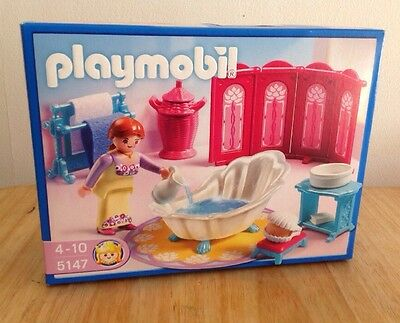 Playmobil 5147 Bathroom Set - New And Sealed