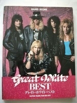 Great White Best Japan Band Score Guitar Tab