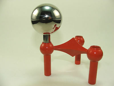 rare NAGEL gazing ball  of the Nagel S22 candle holders system Nagel Quist era Ξ