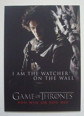 2012 Rittenhouse**GAME Of THRONES** Season 1 You Win Or You Die #SP5 Jon SNOW