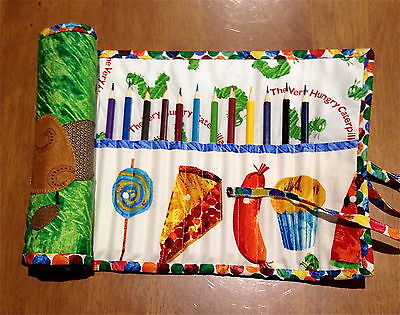 Hungry Caterpiller Pencil Roll