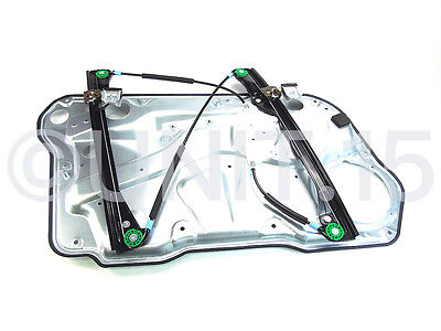 VW Golf MK4 Bora Front Right Drivers Electric Window Regulator With Panel