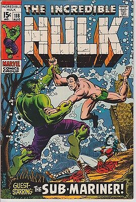 The Incredible Hulk #118 (Aug 1969, Marvel)