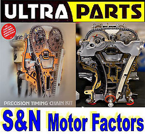 Timing Chain Kit - fits Saab 9-3 TiD 2.2, 9-5 TiD 2.2 D223L/X22DTH - TK115G