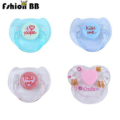4 Pcs Reborn Doll Supplies Dummy Pacifier+Magnet For Reborn Baby Kits Replace