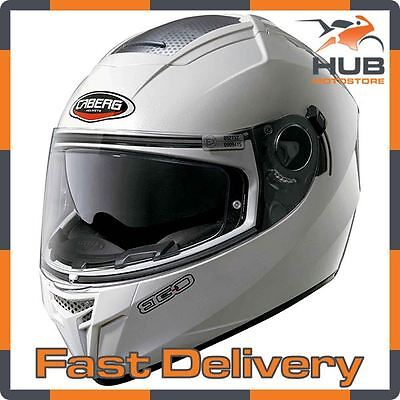 Caberg Ego Full Face Motorcycle Motorbike Crash Helmet - White