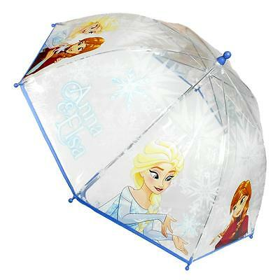 Disney Frozen Bubble Umbrella Licensed Original Frozen Children's Umbrella