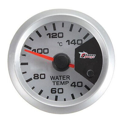 "7 color Motor Shift 2"" 52mm LED Thermometer Water Temperature Temp Meter U3L1"
