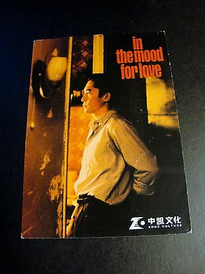 In the Mood for Love movie film Tony Leung Wong Kar Wai 1 used AD Postcard