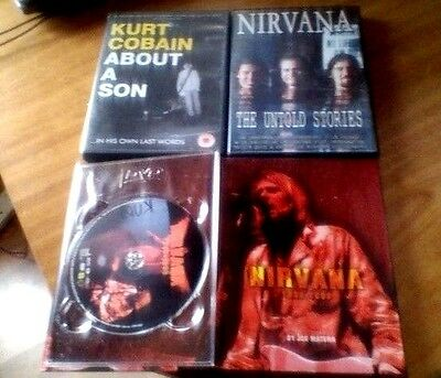 Nirvana DVD and book set  the untold stories kurt cobain about a son