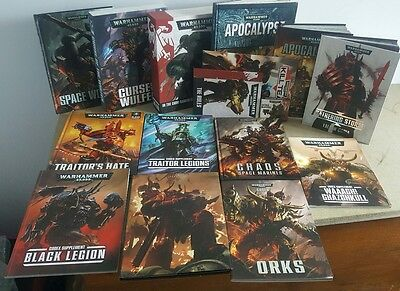 warhammer 40k rulebook and codex collection