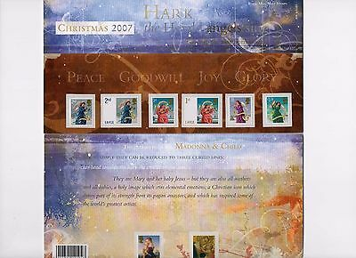 2007 Christmas Presentation Pack 404 MNH, less than face value