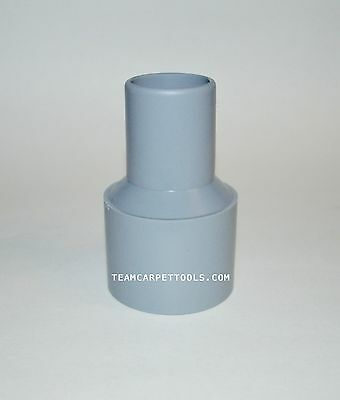 "Carpet Cleaning Vacuum Hose Cuff Adapter 2"" Threaded x 1.5"" Slip-On Reducer Cuff"