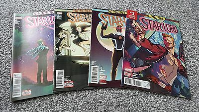 Star-Lord #1,2 + 4 + 6 (2017) Marvel Series - Grounded