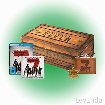 Blu-ray DIE GLORREICHEN SIEBEN (Limited Holzbox Collector's Edition) - 2 Disc's