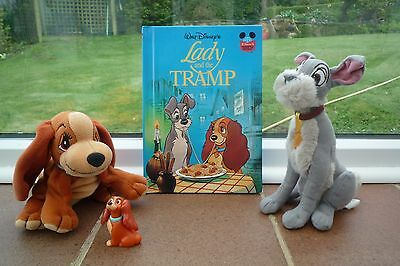Disney Lady and The Tramp toys and Book Lovely!