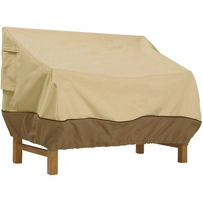 Patio Bench Loveseat Cover Waterproof Outdoor Furniture High Protection Storage