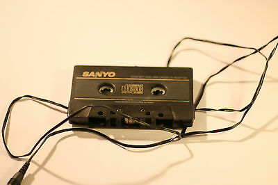 Vintage Sanyo Compact Disc Car Cassette Adaptor 43748497 Cd20