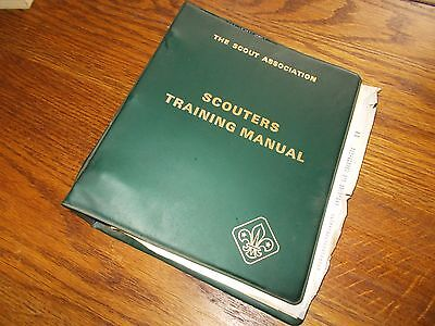 Scouters Training Manual The Boy Scout Association