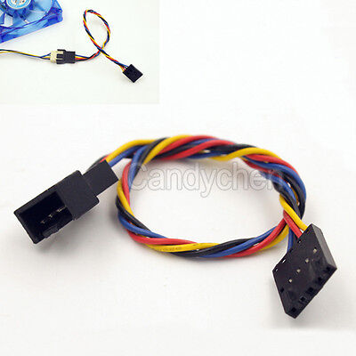 Latch Dedicated Fan 5 Pin To 4 Pin Adapter Interface Connector Cable For Dell