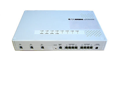 Small 3+8 PABX telephone system for Small Office Home Office plus 8 telephones