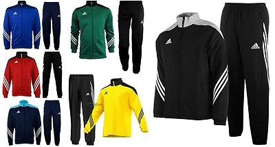 Adidas Mens Tracksuits Sereno Full Zip Top Jogging Bottoms Football Sports Gym