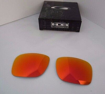 New Oakley Holbrook Replacement Lens Ruby Iridium 43-347 100% Authentic