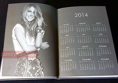 Taiwan RARE 2014 Promo Notebook NEW! CELINE DION LOVED ME BACK TO LIFE