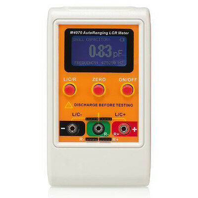 M4070 AutoRanging LCR Meter Up to 100H 100mF 20MR, 1% accuracy 5 digit disp I7Y5