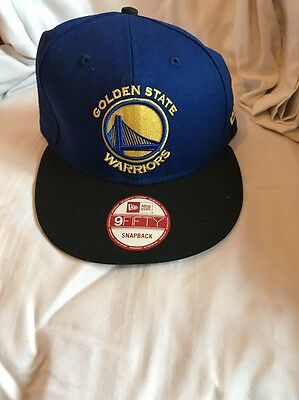 Men's NBA Royal Golden State Warriors 9FIFTY GCP SnapBack Hat- OSFA