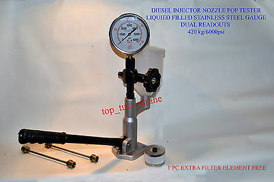 BOSCH GERMANY TYPE Diesel Injector Nozzle Tester Pop Pressure Tester
