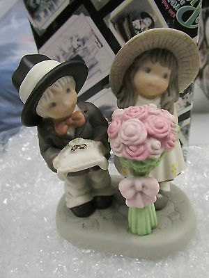 Bearing the Blossoms of Love  - wedding PAAP figurine 786098 enesco new in box