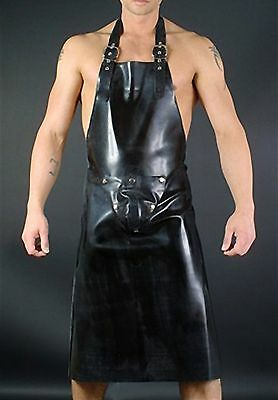 Grembiule In Gomma Nero By Black Body Rubber Butchers Apron Black Heavy Rubber