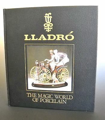 Lladro' The Magic World of Porcelain 1989 Signed by Juan Lladro' With Invitation