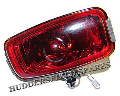 Stainless Steel Rear Fog Lamp for Classic Mini, NEW with fixings