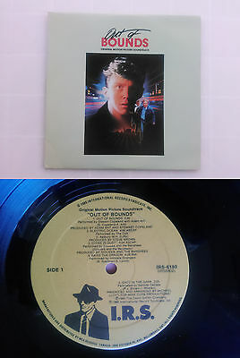 Out Of Bounds Original Motion Picture Soundtrack   LP 1986 CANADA EDITION