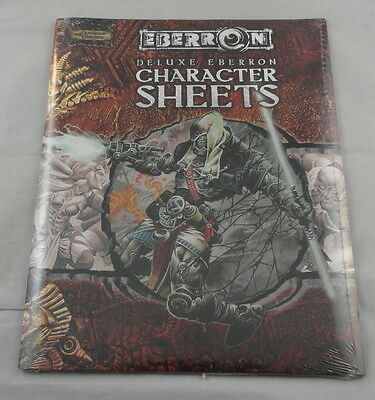 Dungeons & Dragons D&D v3.5 Deluxe Eberron Character Record Sheets WTC95005 NEW