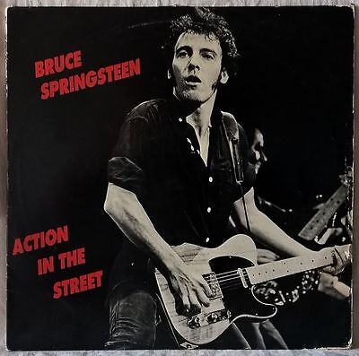 Bruce Springsteen Action In The Street Rare Promo Lp Limited Numbered Edition