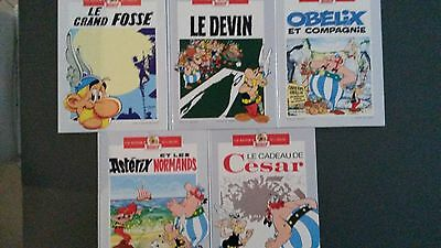 ASTERIX - Lot 5 ALBUMS DOUBLE en TBE
