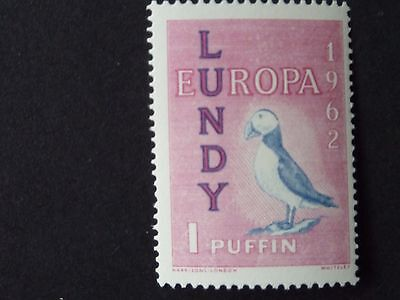 1263]  British Stamps  Isle Of Lundy  - Umm    Europa 1962 - 1 Puffin