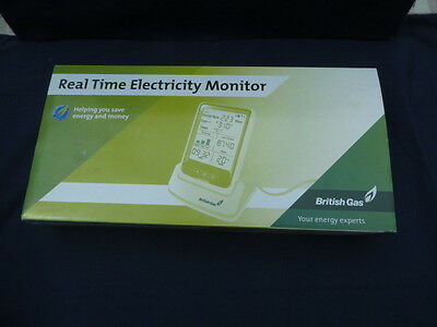 Real Time Electricity Monitor-British Gas- In Box-Electrical Usage Meter - Cc128
