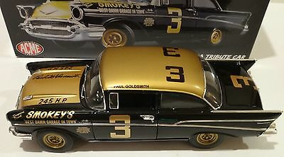 ACME 1:18 1957 Chevrolet Smokey Yunick's Stock Car Signed by Driver