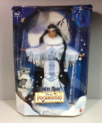 Winter Moon Disney's Pocahontas 1999 Barbie Matel 23964