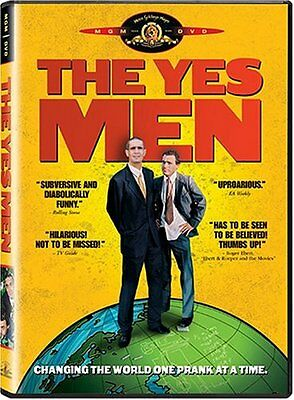The Yes Men (DVD, 2004, Widescreen) Andy Bichlbaum, Mike Bonanno, *NEW* FREE S&H