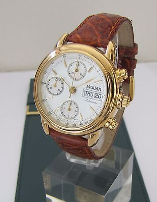 JAGUAR AUTOMATIC CHRONOGRAPH ETA 7750, NEU aus Lagerbestand, SWISS MADE
