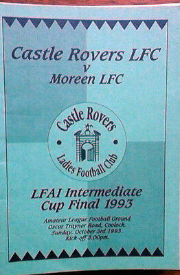 Castle Rovers V Moreen Ladies Intermediate Final 3/10/1993