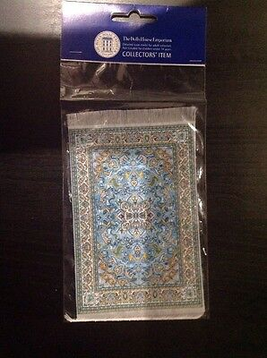 Dolls House Emporium 1/12th scale Blue Antonio Rug