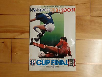 1986 Fa Cup Final Programme - Everton Vs Liverpool