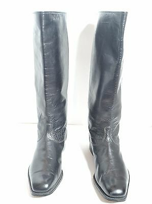 Original Soviet  Russian WWII Officers Leather Boots